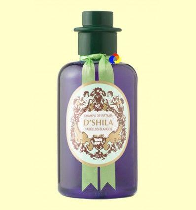 Champú de Retama - Cabellos Blancos - D'Shila - 300 ml