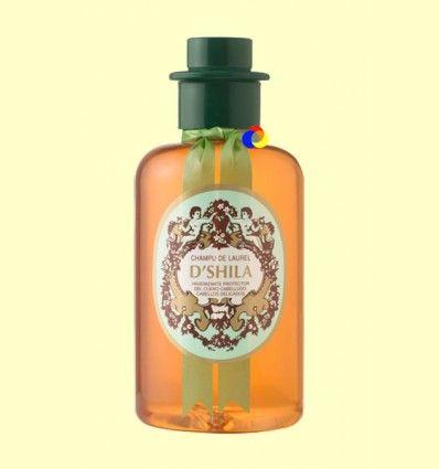 Champú de Laurel - Cabellos delicados - D'Shila - 300 ml