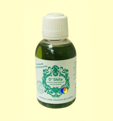 Champú Anti Caida concentrado de Eucalipto - D'Shila - 50 ml