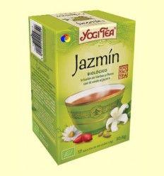 Jazmín - Infusión de hierbas y flores con te verde - Yogi Tea - 17 bolsitas de infusión