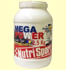 Mega Power sabor Chocolate - Nutrisport - 2,5 Kg