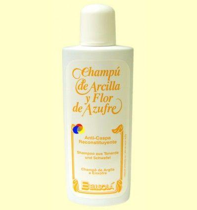 Champú de Arcilla y Flor de Azufre - Anticaspa - Bellsolá - 250 ml