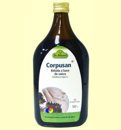 Corpusan Bebida a base de saúco - Dr. Dünner - 500 ml