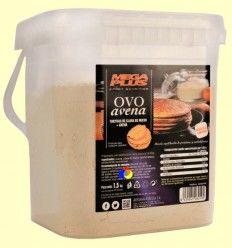 Ovoavena - Tortitas de clara de huevo y avena - Mega Plus - 1500 gramos