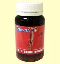 Ginseng Rojo Coreano CH-31 - Bellsolà - 100 comprimidos *