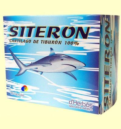 Siterón - Cartílago de tiburón - derbós - 90 cápsulas