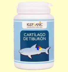 Cartílago de Tiburón 500 mg - Klepsanic - 80 cápsulas