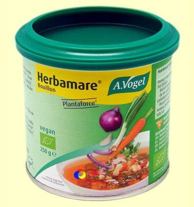 Herbamare Plantaforce Caldo vegetal - A. Vogel - 250 gramos