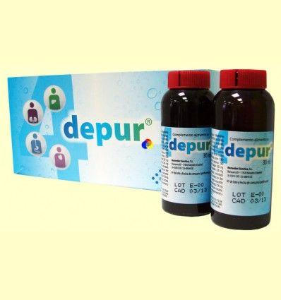 4 Depur - Depurativo - Masterdiet - 15 viales monodosis *
