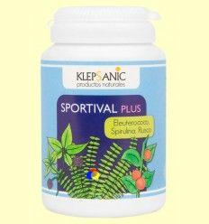 Sportival Plus - Tónico y Energético - Klepsanic - 60 cápsulas