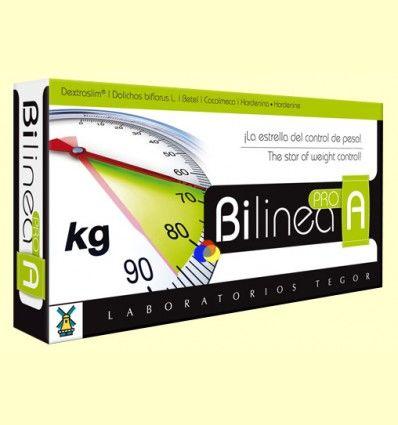 Bilinea A Pro - Control del peso - Tegor - 40 cápsulas