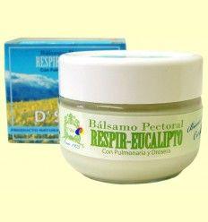 Bálsamo Pectoral Respir Eucalipto - D'Shila - 50 ml