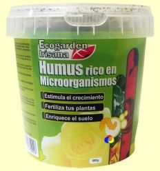 Humus rico en Microorganismos - Irisana - 600 gramos
