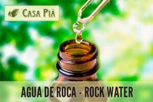 elixires florales agua roca