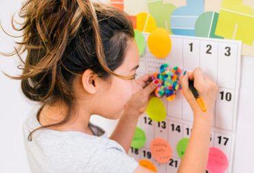 Calendario de alimentación infantil