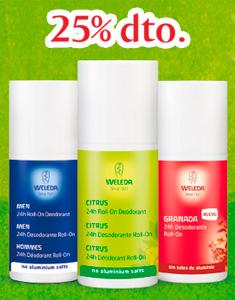Desodorantes Weleda