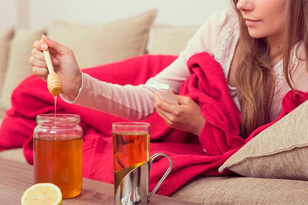 Miel y afecciones respiratorias