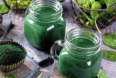 espirulina-en-batidos-vegetales-recetas-para-adelgazar