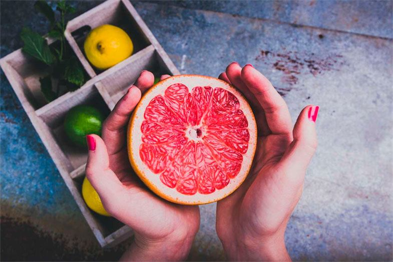 Control de peso con pomelo