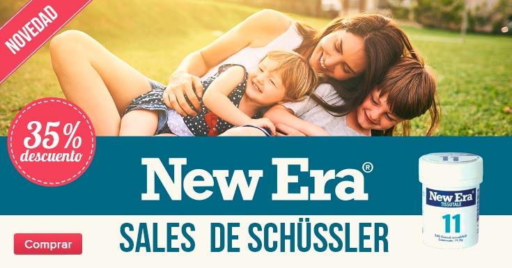Comprar SALES DE SCHÜSSLER NEW ERA
